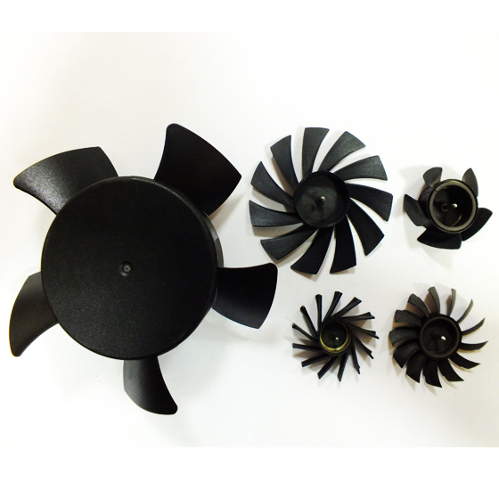 Injection Molded Cooling Fan